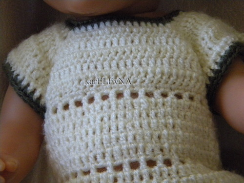 Одежда крючком для беби борна