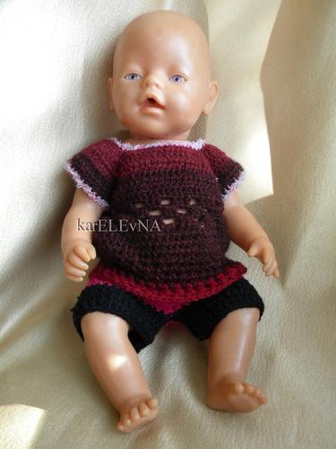 Схемы вязания для куклы беби борн.