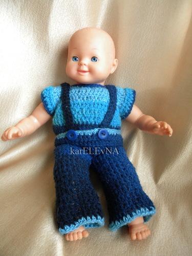 для кукол одежда вязание
