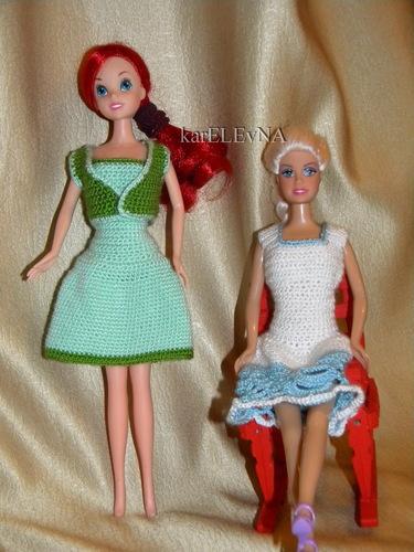 Одежда для Барби крючком схемы