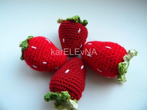 фрукты овощи крючком fruits vegetables hook fruktai daržovės amigurumi