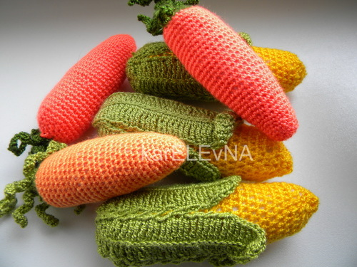 fruits amigurumi