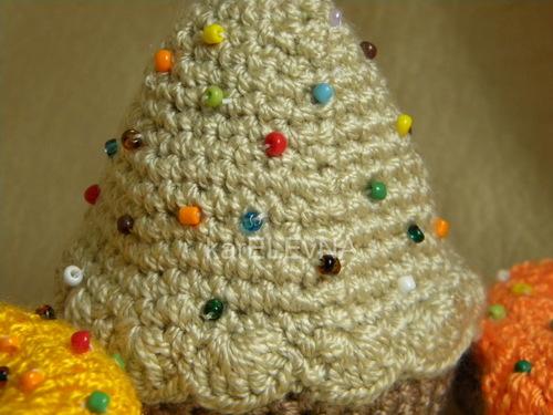 сладости пончик крючком cake donuts amigurumi