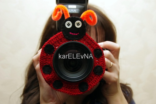 lens buddy crocheting
